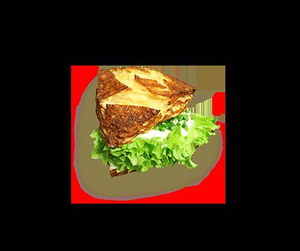 Laugenecke mit Frischkäse und Schnittlauch