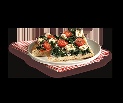 Steinofenpizza Spinat Feta
