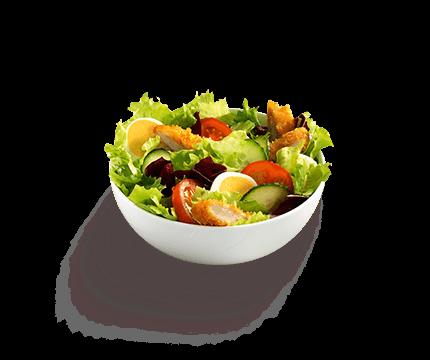 Salat Hähnchen