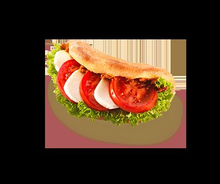 Focaccia Tomate Mozzarella