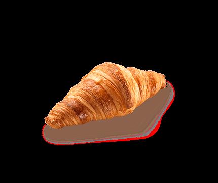 Französisches Buttercroissant