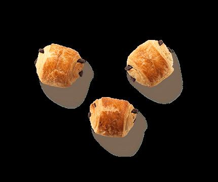 Mini Schokobrötchen