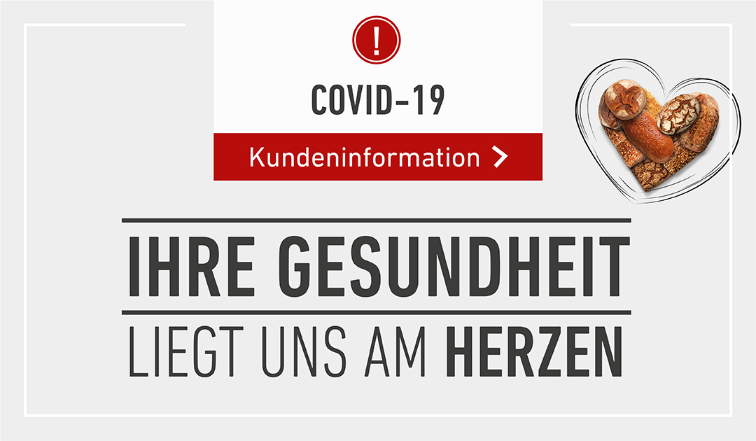 COVID-19 Kundeninformation