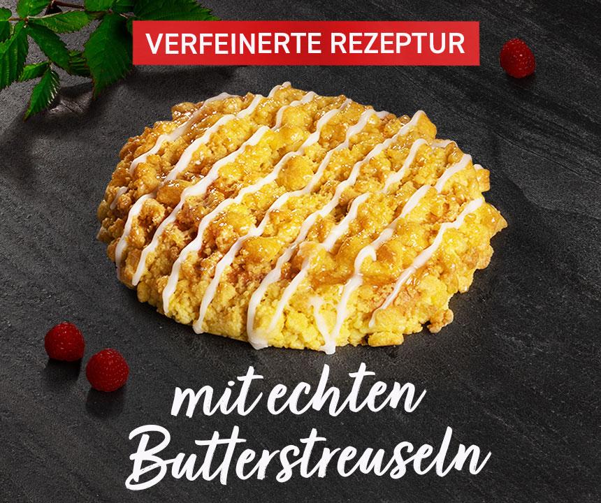 Streuseltaler - Verfeinerte Rezeptur, mit echten Butterstreuseln
